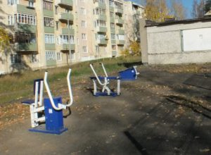 Уличные тренажеры (2)