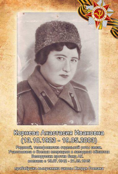 Корнева Анастасия