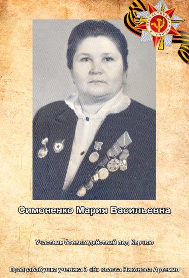 Симоненко Мария
